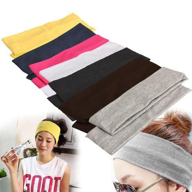 Headband Stretch Ribbon Cotton Hairband