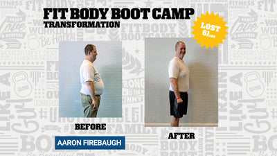 Aaron Firebaugh lost 115lbs And Inspired A Community