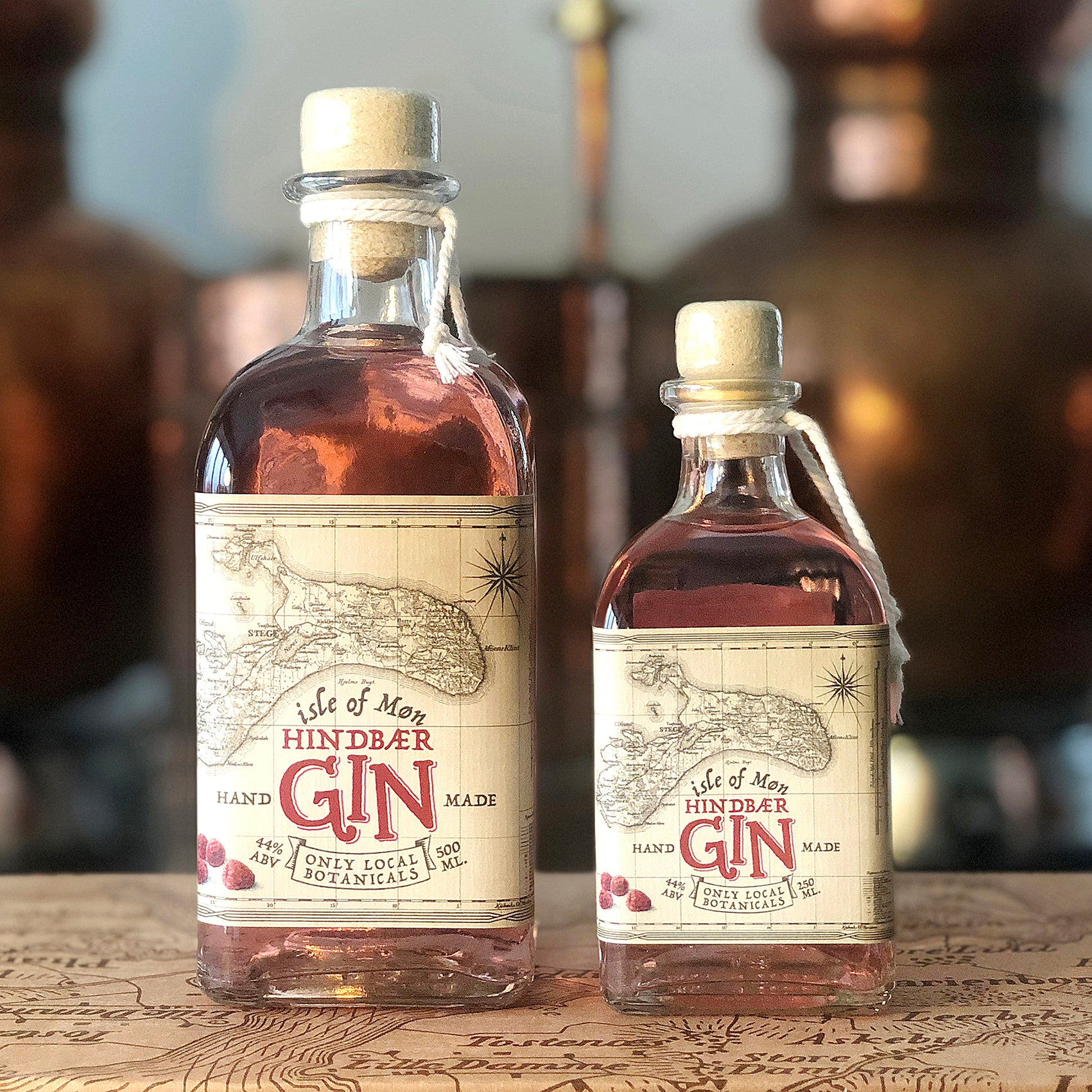 Isle of Møn Hindbær Gin - Isle of Møn Spirits