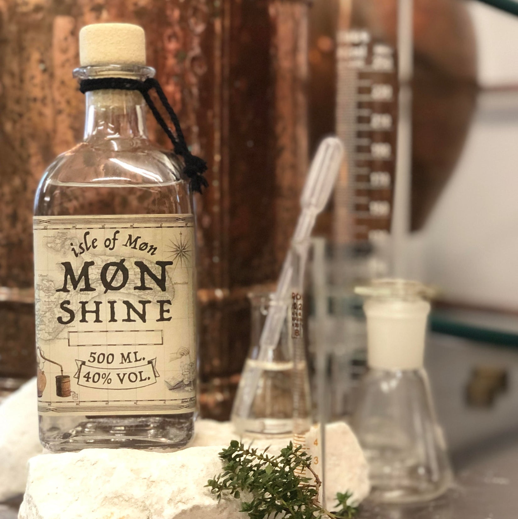 Møn Shine Vodka - Isle of Møn Spirits