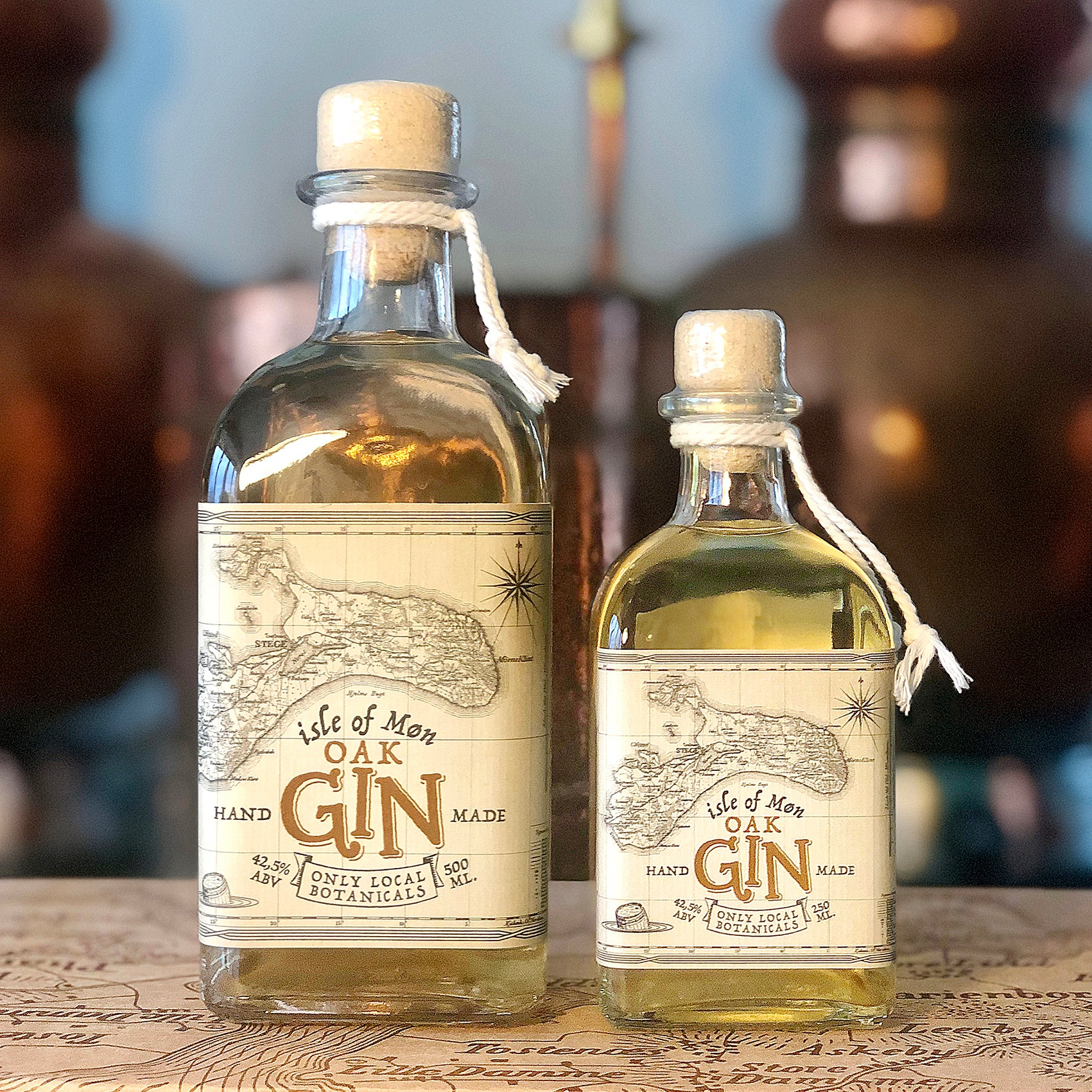 Isle of Møn Oak Gin - Isle of Møn Spirits