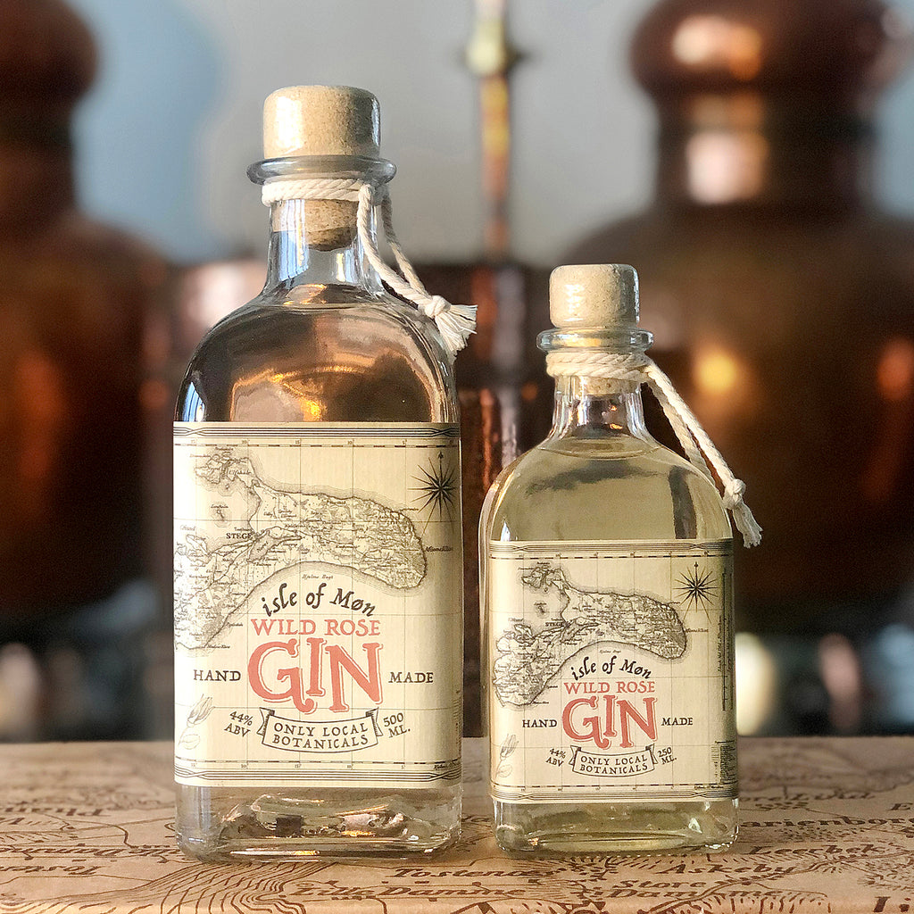Isle of Møn Wild Rose Gin - Isle of Møn Spirits
