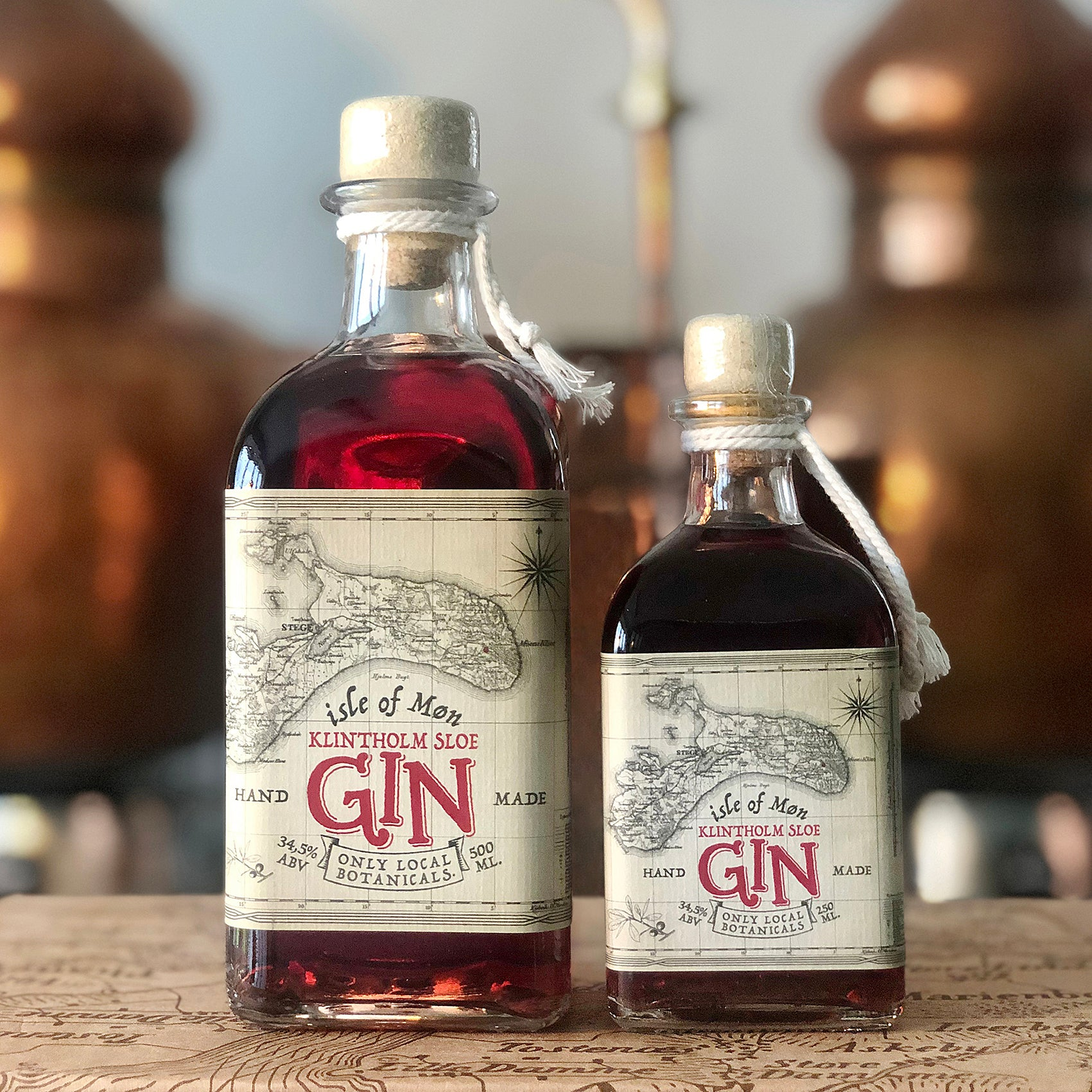 Isle of Møn Sloe Gin - Isle of Møn Spirits