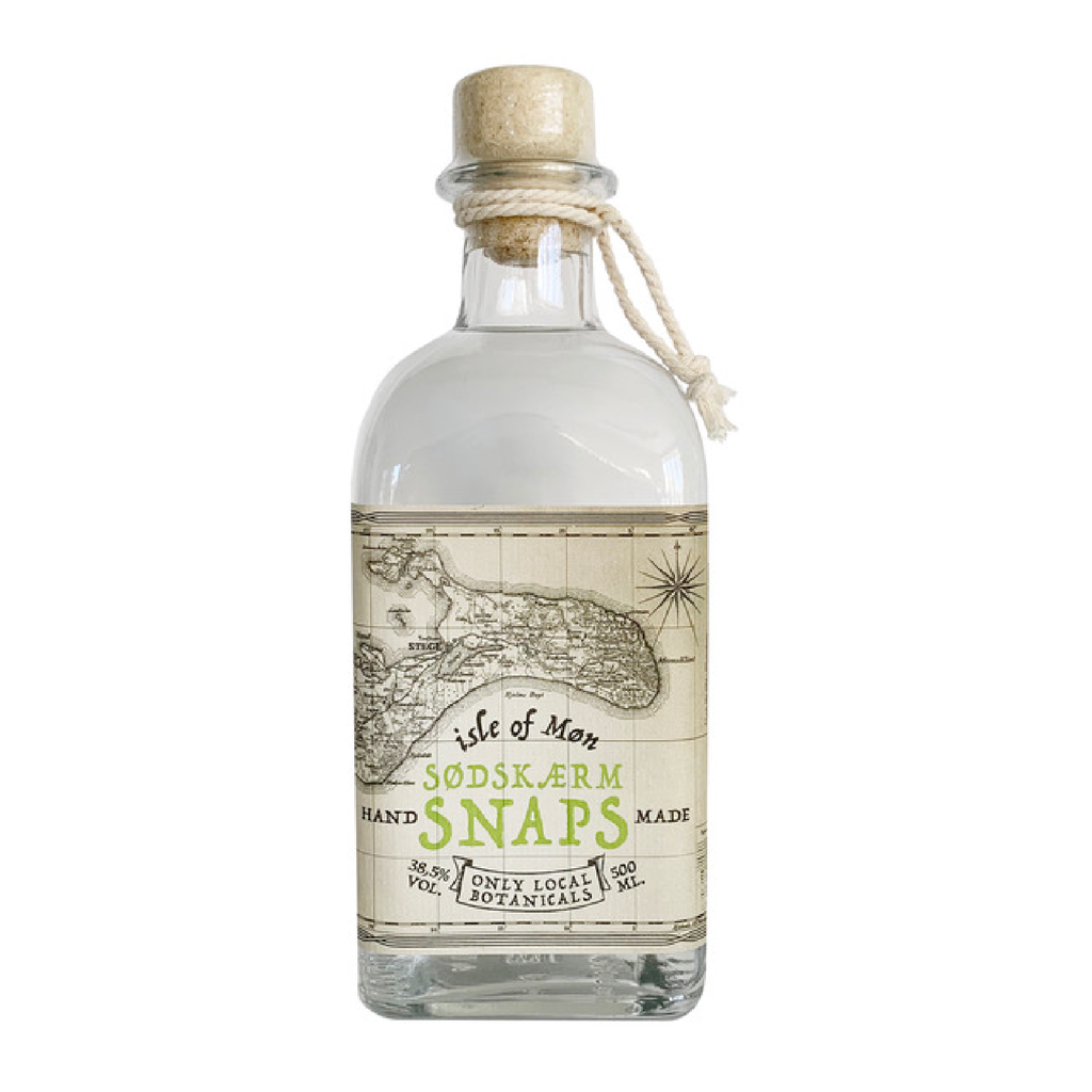 Isle of Møn Sødskærm Snaps, 500 ml. - Isle of Møn Spirits