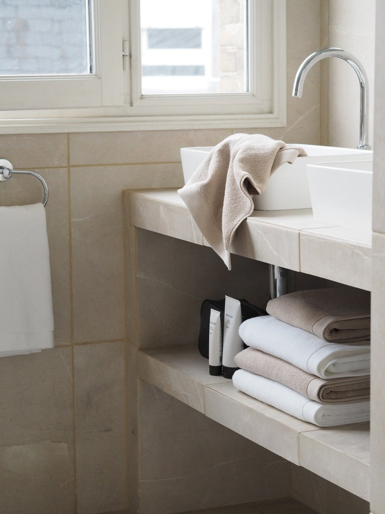 Riviera Towels - Silver