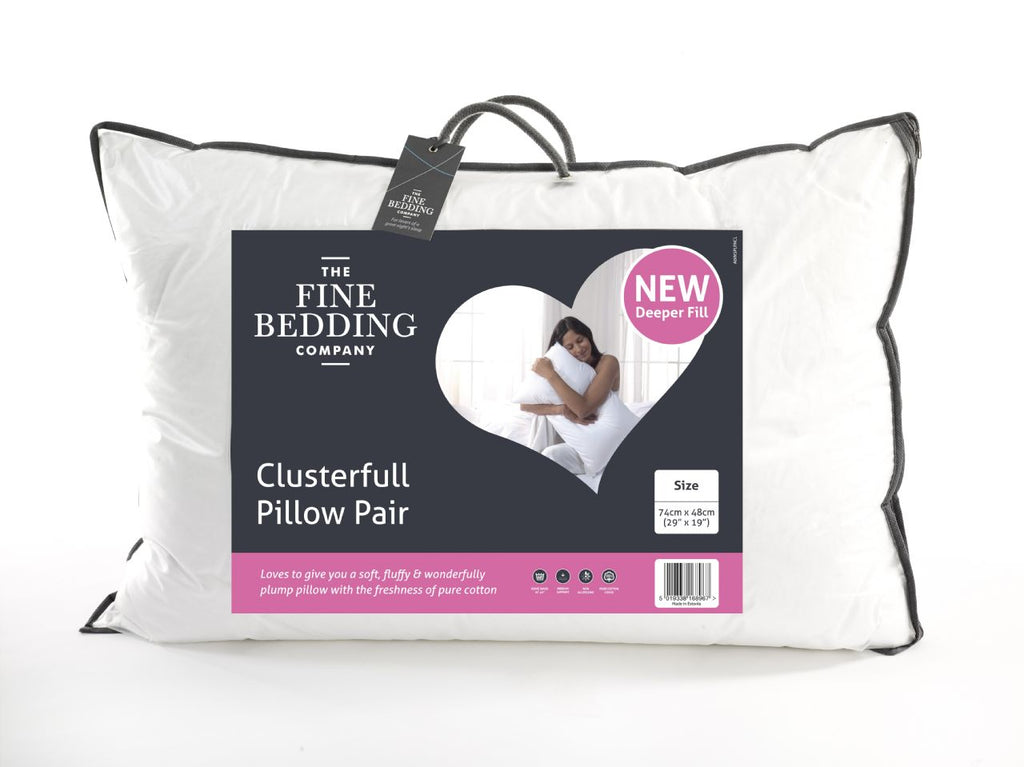 Clusterfull Pillow Pair