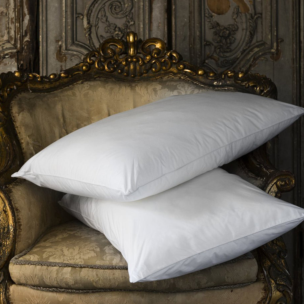 Luxury Hungarian Goose Down Pillow | Soft Support
