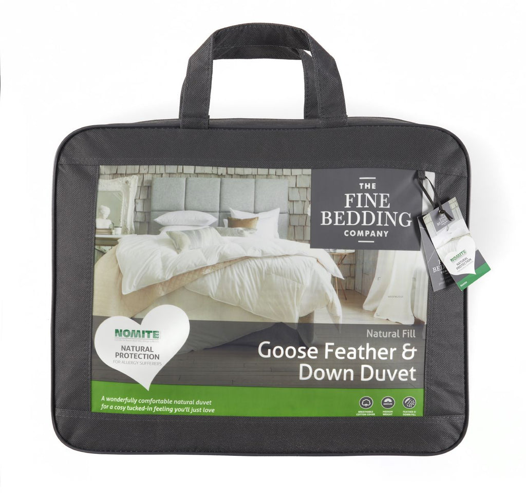 Goose Feather & Down Duvet