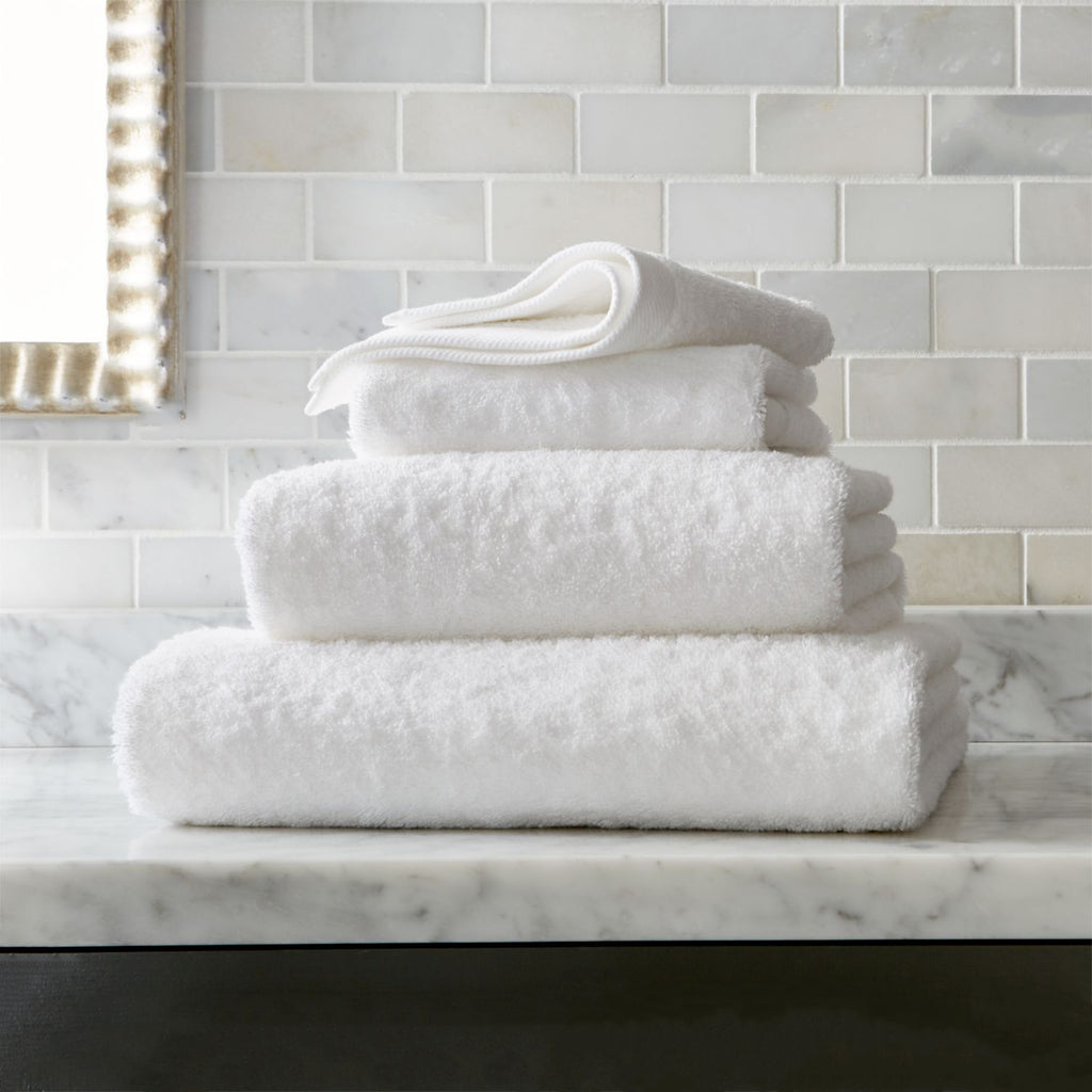 Riviera Towels - White