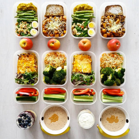 how to meal prep, meal prepping, easy meal prepping ideas