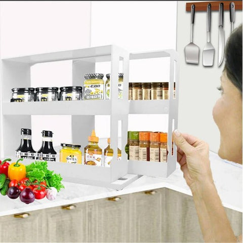 messy kitchen,kitchen drawer organizer,shelf rack for kitchen,pull out cabinet organizer,cabinet slide out shelves,save space in kitchen,innovative design 3