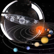 Load image into Gallery viewer, 3D Solar System Crystal Sphere Ball gadget sortedfactory