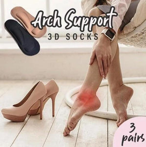 Arch Support 3D Socks (pair of 3)