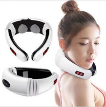 Load image into Gallery viewer, Electric Pulse Massager for neck and shoulders