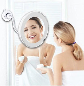 Magnifying Portable Makeup Mirror with Lights
