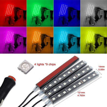 Load image into Gallery viewer, Car LED Strip Lights |Decorative Car Interior Lights car sortedfactory