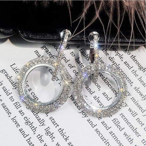 Elegant Crystal Earrings earrings sortedfactory