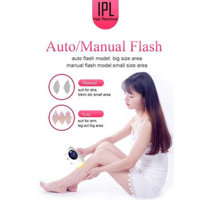 IPL Laser Hair Removal Handset - beauty