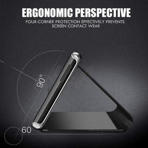 Luxury Smart Mirror Phone Flip Case For Samsung Flagship gadget sortedfactory