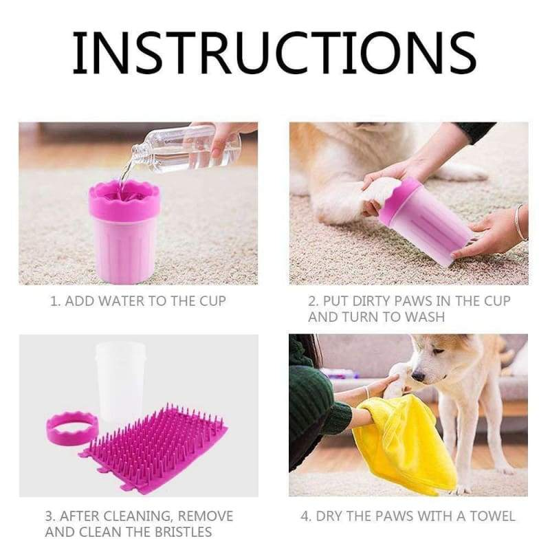 Pet Paw Cleaner - pet