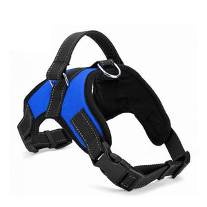The Last Dog Harness You'll Ever Have To Buy, Guaranteed! pet sortedfactory Blue L