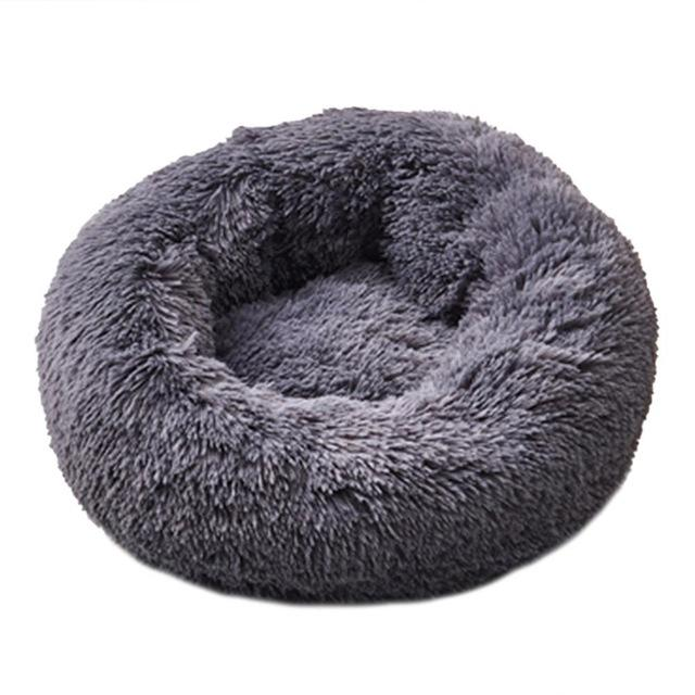 Dog Calming Bed pet sortedfactory Dark Gray S 50 cm