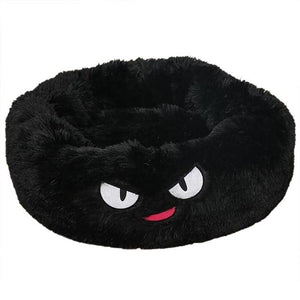 Dog Calming Bed pet sortedfactory Black Cartoon L 70 cm