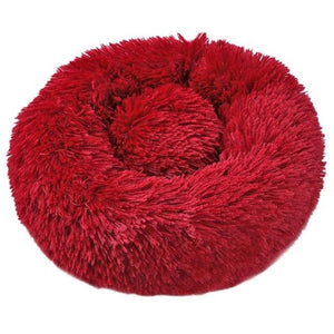 Dog Calming Bed pet sortedfactory Red M 60 cm