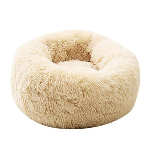 Dog Calming Bed pet sortedfactory Beige Yellow L 70 cm