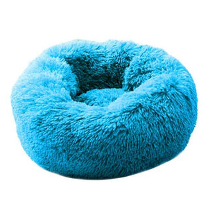 Dog Calming Bed pet sortedfactory Blue L 70 cm