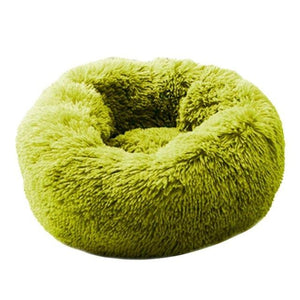 Dog Calming Bed pet sortedfactory Fruit Green M 60 cm