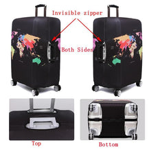 Load image into Gallery viewer, Travel Around The World | Standard Design | Luggage Suitcase Protective Cover interesting sortedfactory