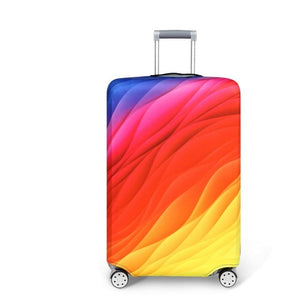 Travel Around The World | Standard Design | Luggage Suitcase Protective Cover interesting sortedfactory Quicksand S