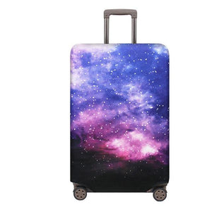 Travel Around The World | Standard Design | Luggage Suitcase Protective Cover interesting sortedfactory Fantasy Starry Sky S