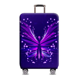 Travel Around The World | Standard Design | Luggage Suitcase Protective Cover interesting sortedfactory Abstract Butterfly S
