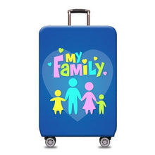 Load image into Gallery viewer, Travel Around The World | Standard Design | Luggage Suitcase Protective Cover interesting sortedfactory My family S