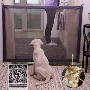 Pet Dog Magic Gate