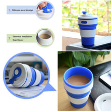 Load image into Gallery viewer, Eco Collapsible/Foldable Coffee Cup