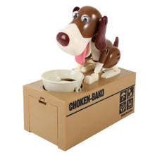 Load image into Gallery viewer, Dog Piggy Bank Robotic Coin Toy Money Box interesting sortedfactory