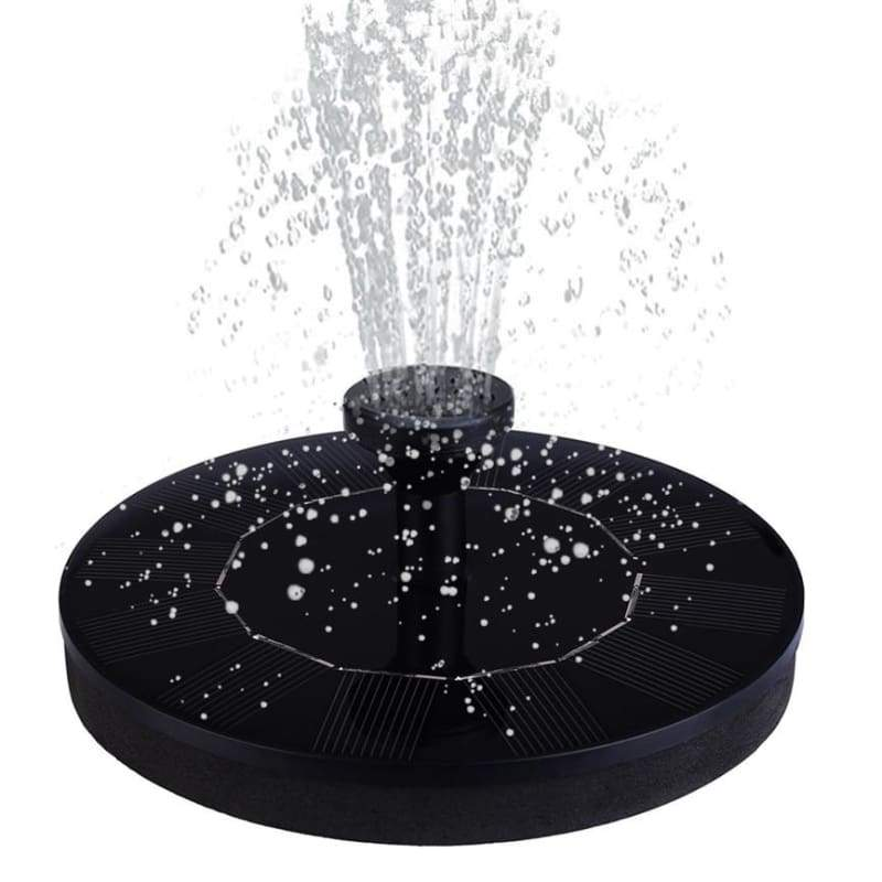 Solar Garden Fountain - solar pump