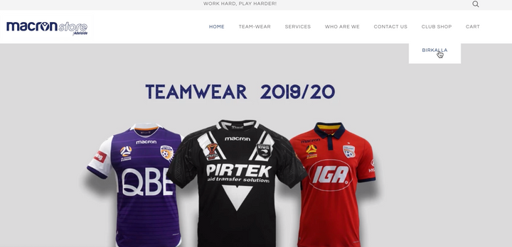 Club Shop LAUNCHED by Macron Store Adelaide