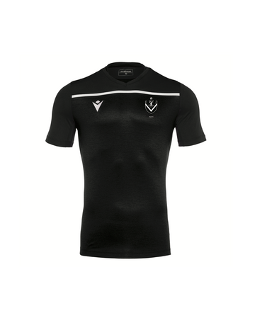 AUSC Deneb Senior Training Shirt SS - Black/Grey