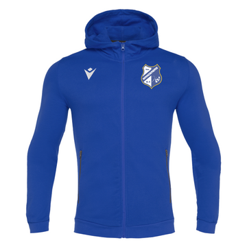 Adelaide Wanderers Full Zip Hoodie - Cello (Blue)