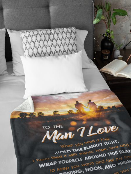 To the Man I Love - Premium Blanket