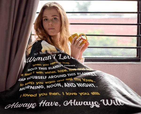 To the Woman I Love - Premium Blanket