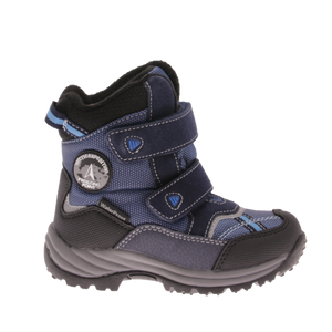 891-16005Dock Black/blue Vintersko