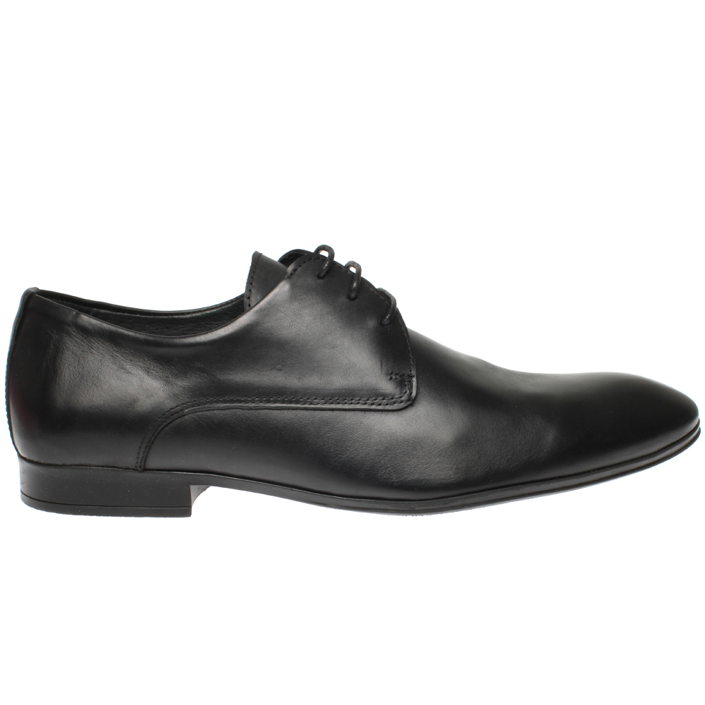 Gregers London Patent Black