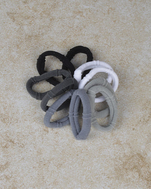 10Pcs  Elastic Hair Ties Band