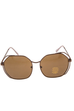 Double framed edge sunglasses