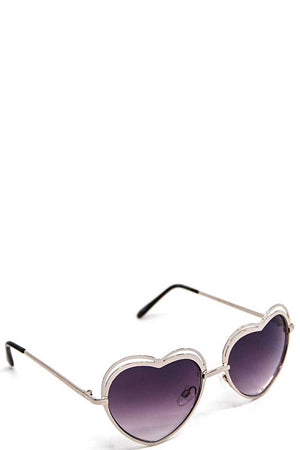 Modern Heart Princess Sunglasses